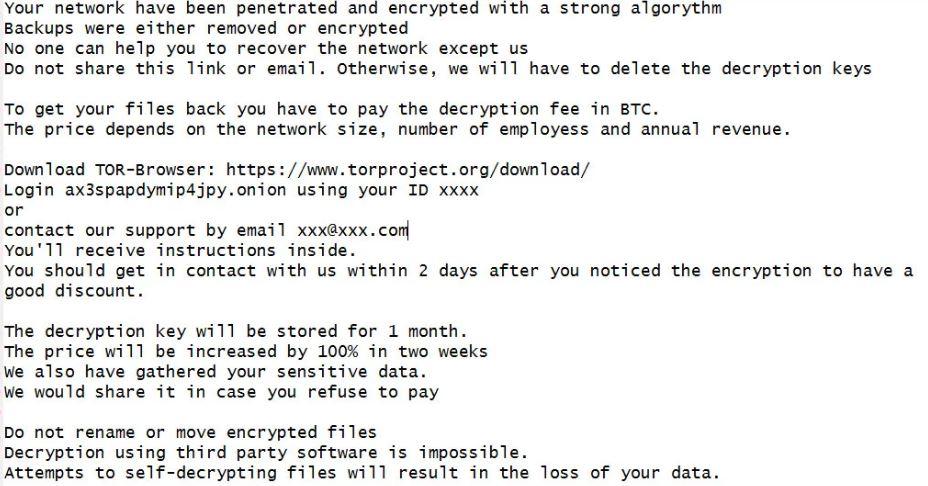 PwndLocker Ransomware virus remove