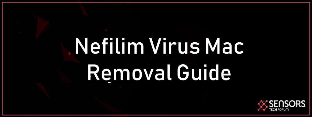 Nefilim Virus (.NEFILIM File) - Removal and Recovery GUIDE