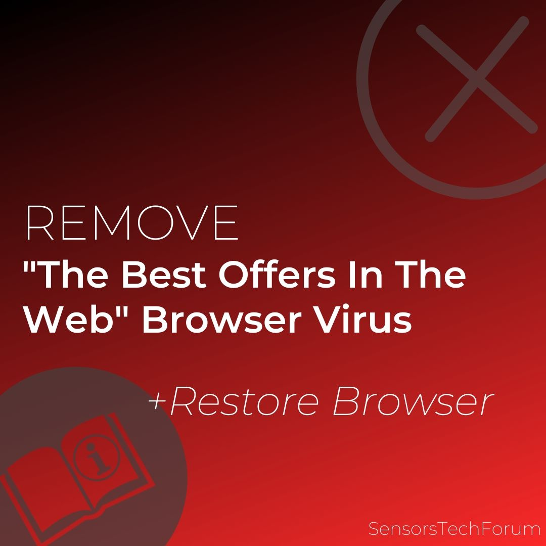 remove The Best Offers In The Web Browser Virus