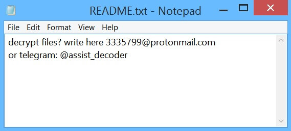 stf-README-kir-virus-file-paradise-ransomware