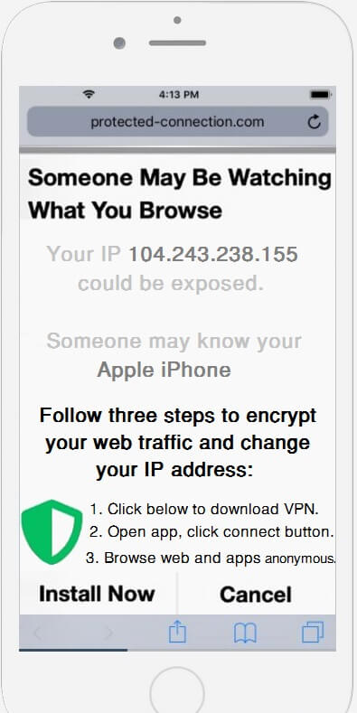 stf-protected-connection.com-iphone-redirect