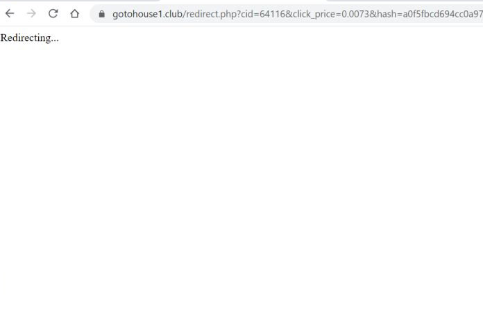 Gotohouse1.club redirect image