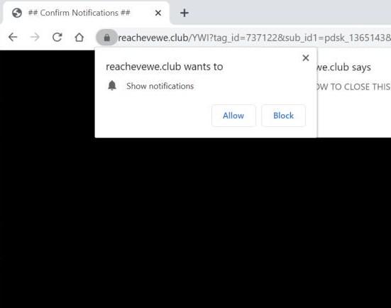 Reachevewe.club redirect image