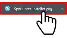 Run Spyhunter installer