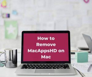 verwijder het MacAppsHD Mac virus