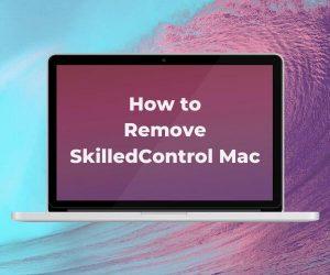 eliminar la aplicación de Mac SkilledControl