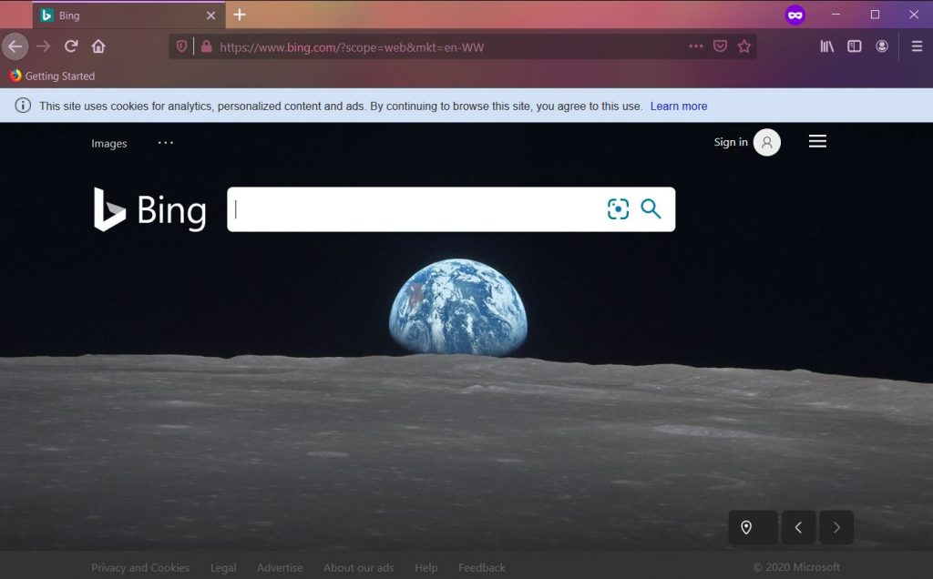 Fastecosearch.com Redirects to Bing Search removal guide stf
