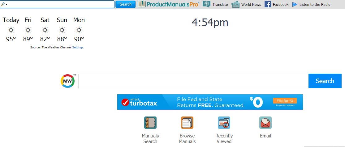 Imagem de redirecionamento do ProductManualsPro