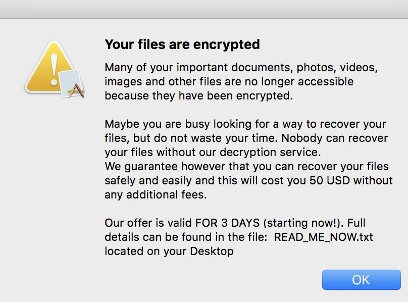 EvilQuest Mac Ransomware Distributed via Infected App Installers