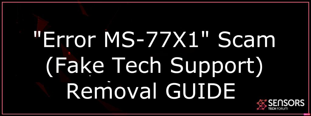 Error MS-77X1