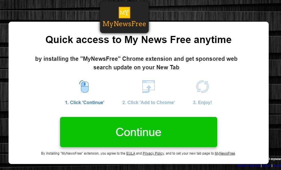 MyNewsFree redirect image