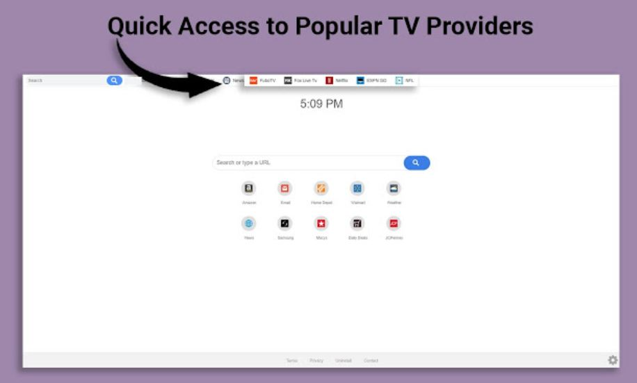 stf-Watch TV Quick-redirect