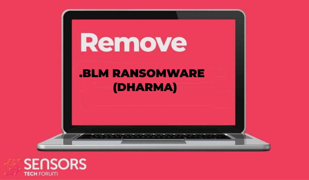 blm virus Dharma ransomware afbeelding