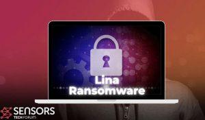 archivos de virus lina eliminar guía de restauración