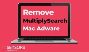 remove MultiplySearch mac virus