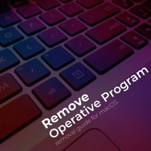 remove OperativeProgram mac virus