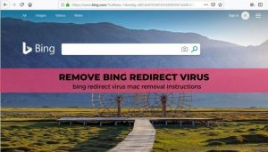 Eliminación del virus Bing redirect