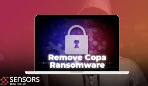 remove copa virus ransomware