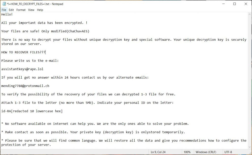 !=HOW_TO_DECRYPT_FILES=! txt ransom note curator virus