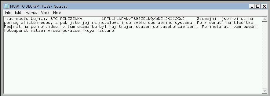 Mame vse ransomware virus image