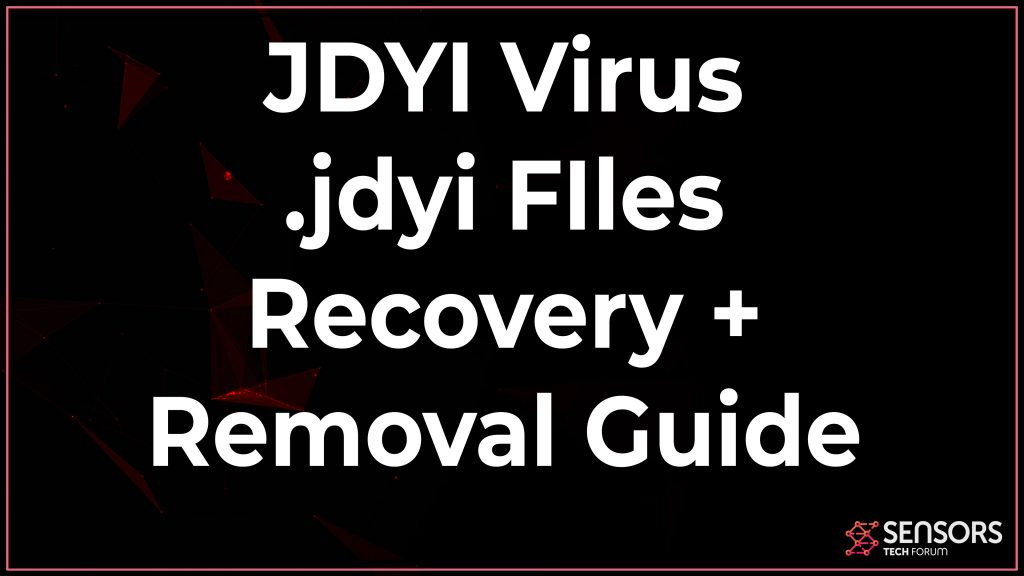 Jdyi Virus Removal Decryption