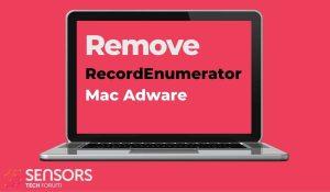 remove RecordEnumerator mac adware