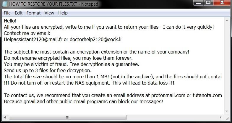 stf-Clhmotjdxp-virus-file-snatch-ransomware-note