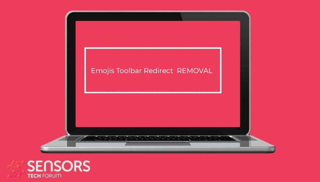 Emojis Toolbar Redirect Virus