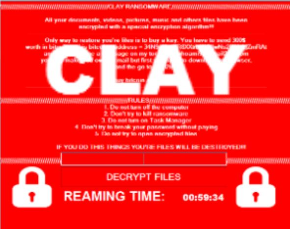 Clay virus ransomware removal guide