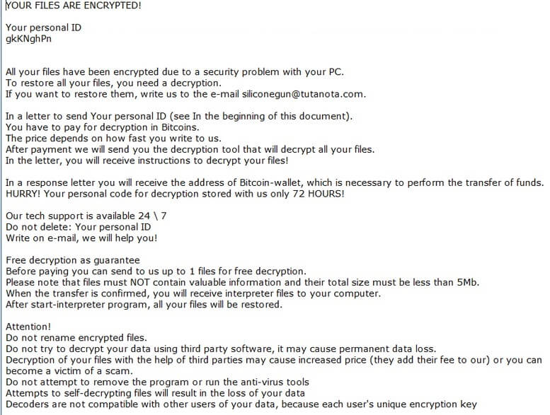 stf-siliconegun@tutanota.com-virus-file-matroska-ransomware-note