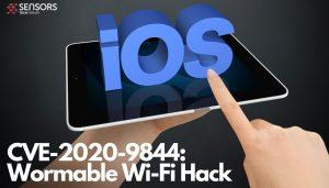 CVE-2020-9844 Wormable Wi-Fi Hack-sensorstechforum