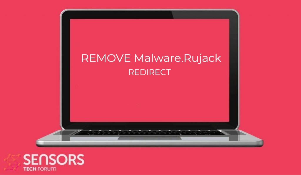 Malware.Rujack Redirect Virus