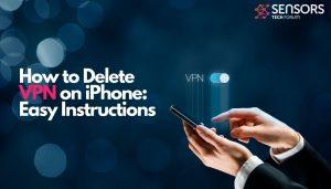 Utilisateur VPN iPhone