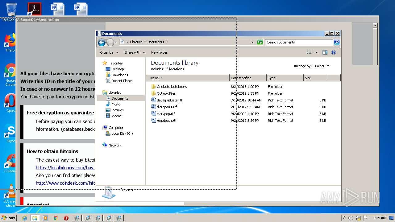 kobos virus file ransomare note lockscreen instance
