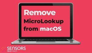 remove MicroLookup mac adware guide