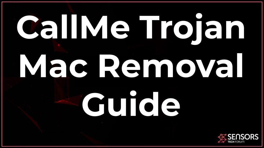 CallMe Trojan Mac