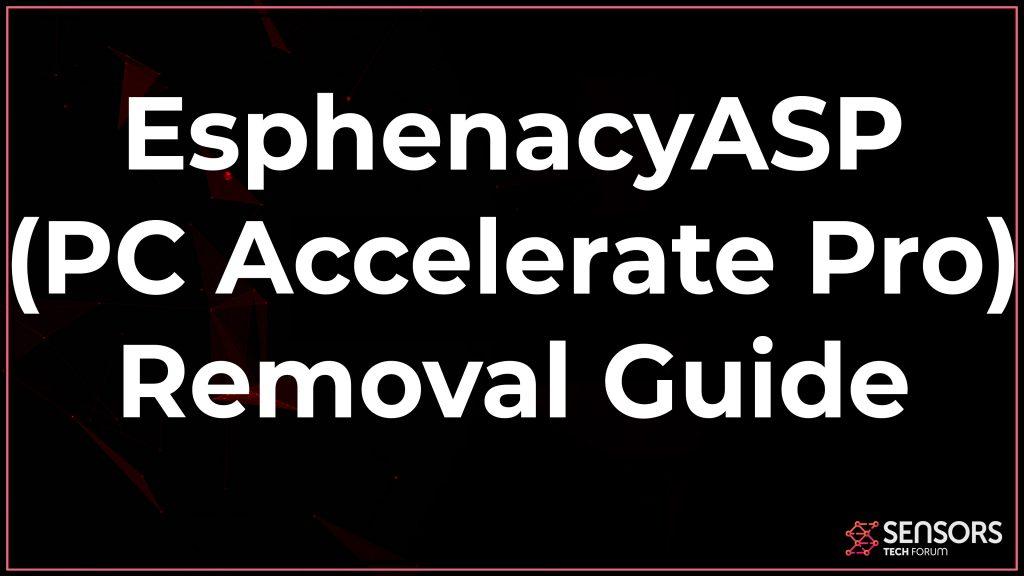 EsphenacyASP Removal Guide