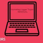 HomeKeyLogger Trojan image