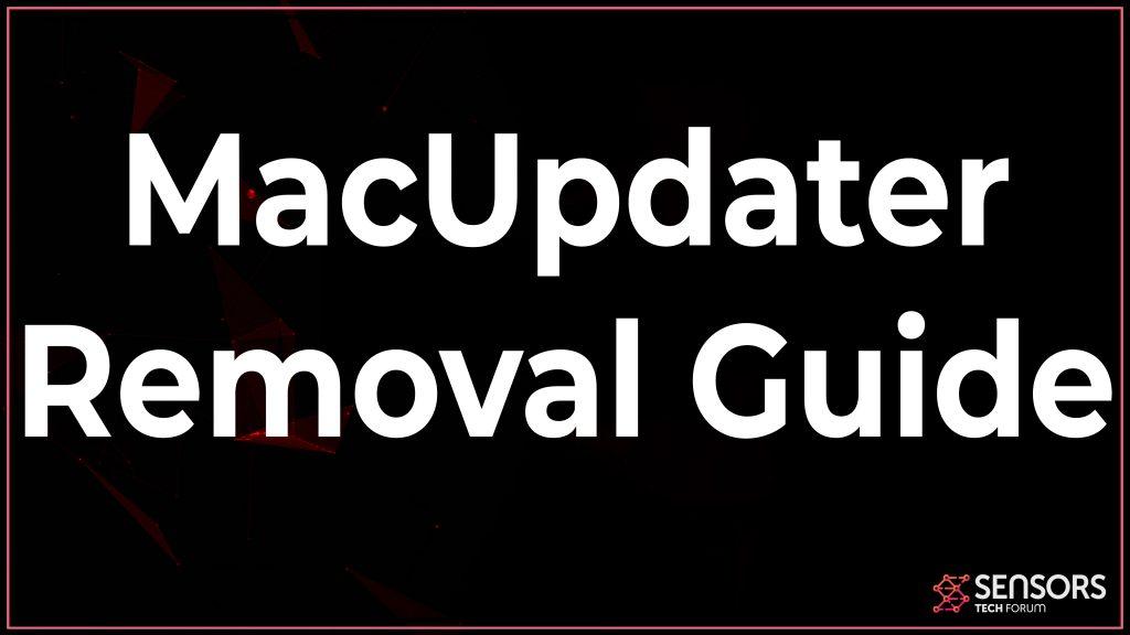 macupdater uninstall