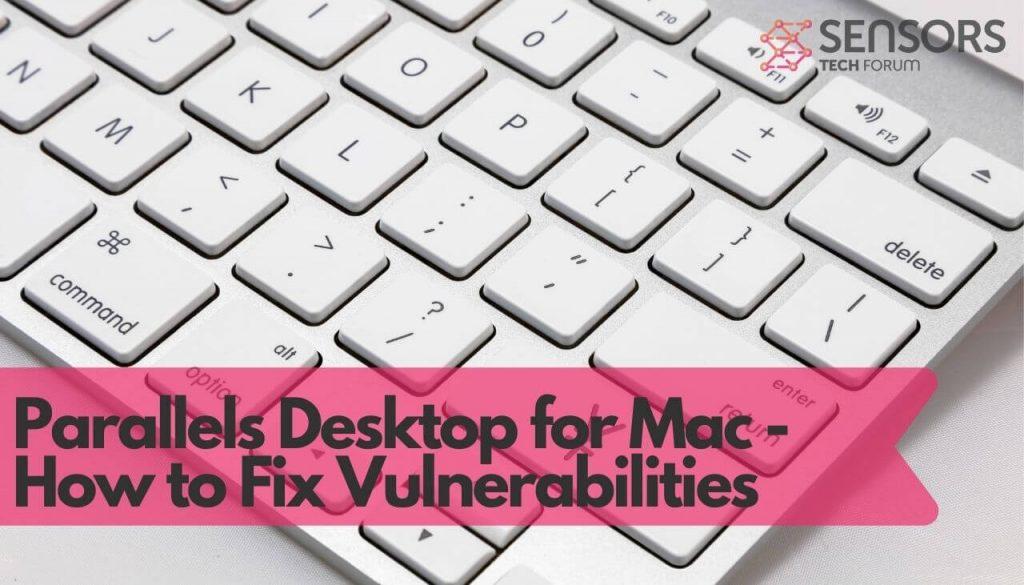 Parallels Desktop for Mac – How to Fix Vulnerabilities