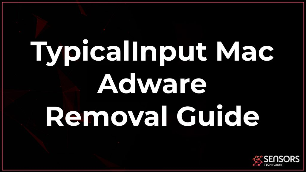 TypicalInput Mac Adware Removal
