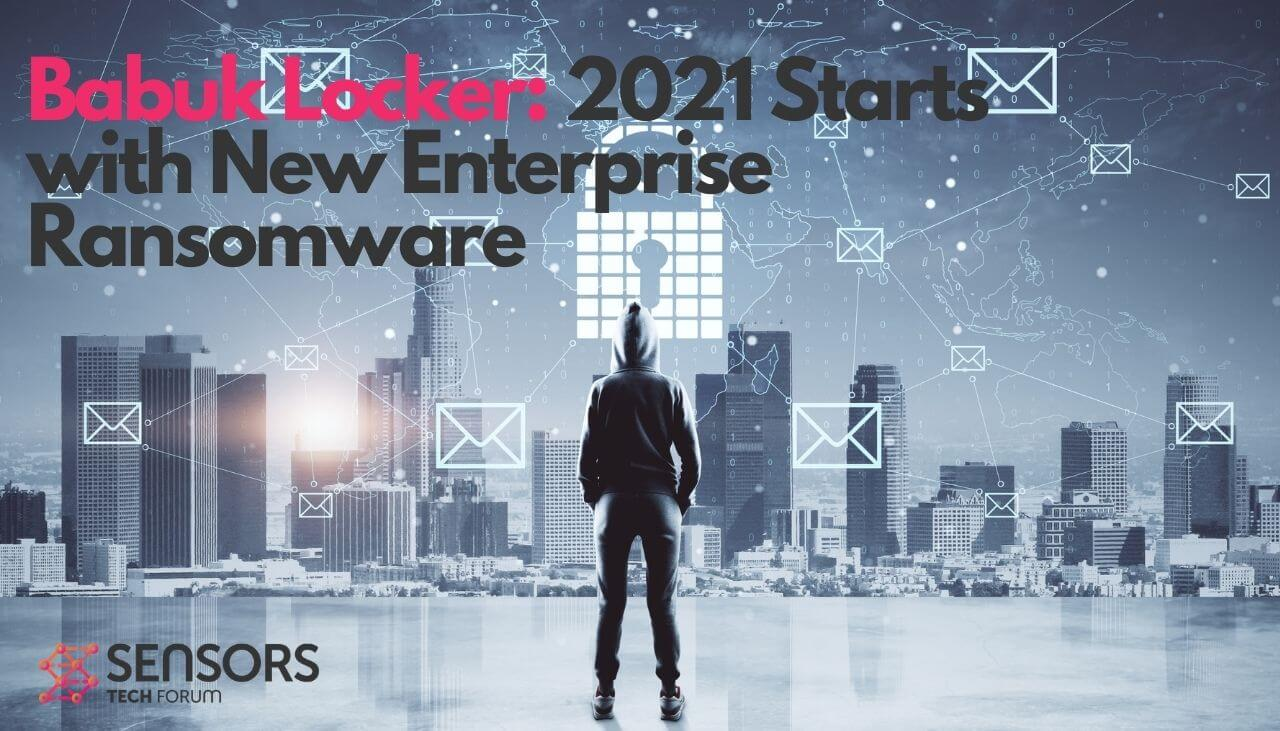 babuk locker novo hacker de ransomware empresarial