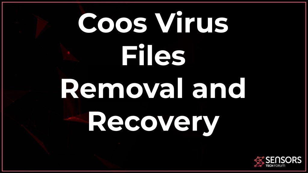 Remoção de arquivo de vírus Coos