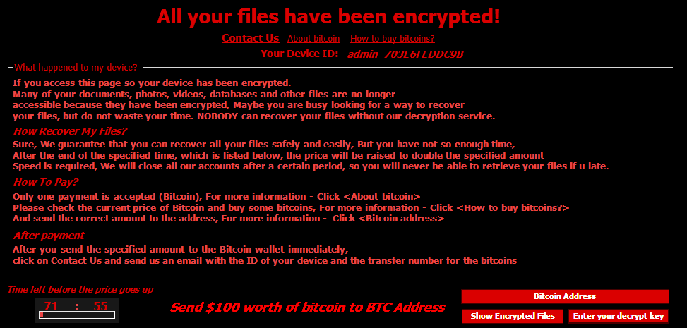 Remove Judge Ransomware Virus