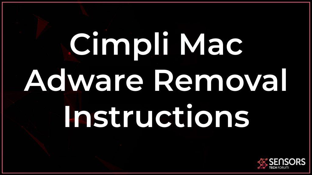 Cimpli Mac Adware Removal