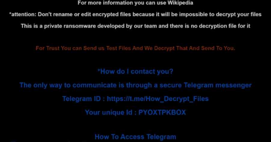 HELP DECRYPT YOUR FILES txt lucifer ransom message screen