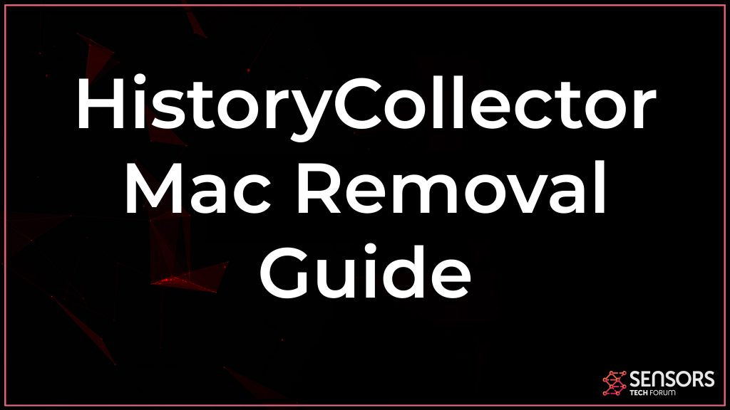 HistoryCollector Mac Removal