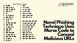morse code used in phishing