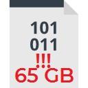 excluir mover arquivos grandes