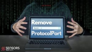 remove protocol port adware